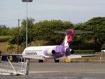 Hawaiianの飛行機